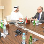 Sheikh Mohammed Meets UK Parliament Delegation