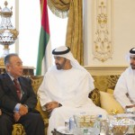 Sheikh Mohammed bin Zayed Receives Japanese oil CEOs