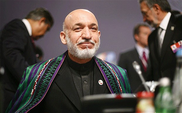 Karzai Welcomes British Pullout Timeline