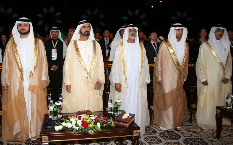 Sheikh Mohammed Opens Global Entrepreneurial Summit