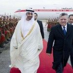 Sheikh Mohammed bin Zayed Meets King Abdullah II of Jordan